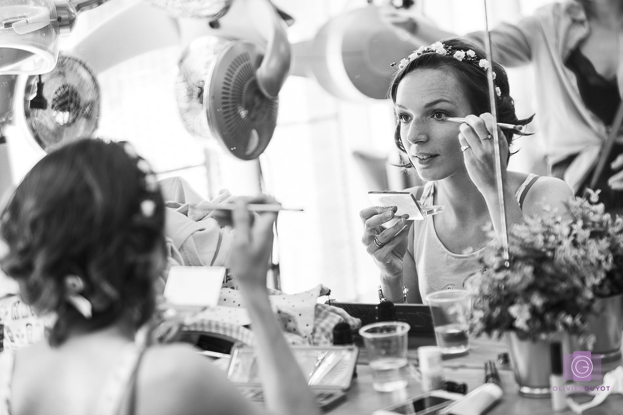 Preparation Mariage Maquillage Coiffage Photographe Versailles