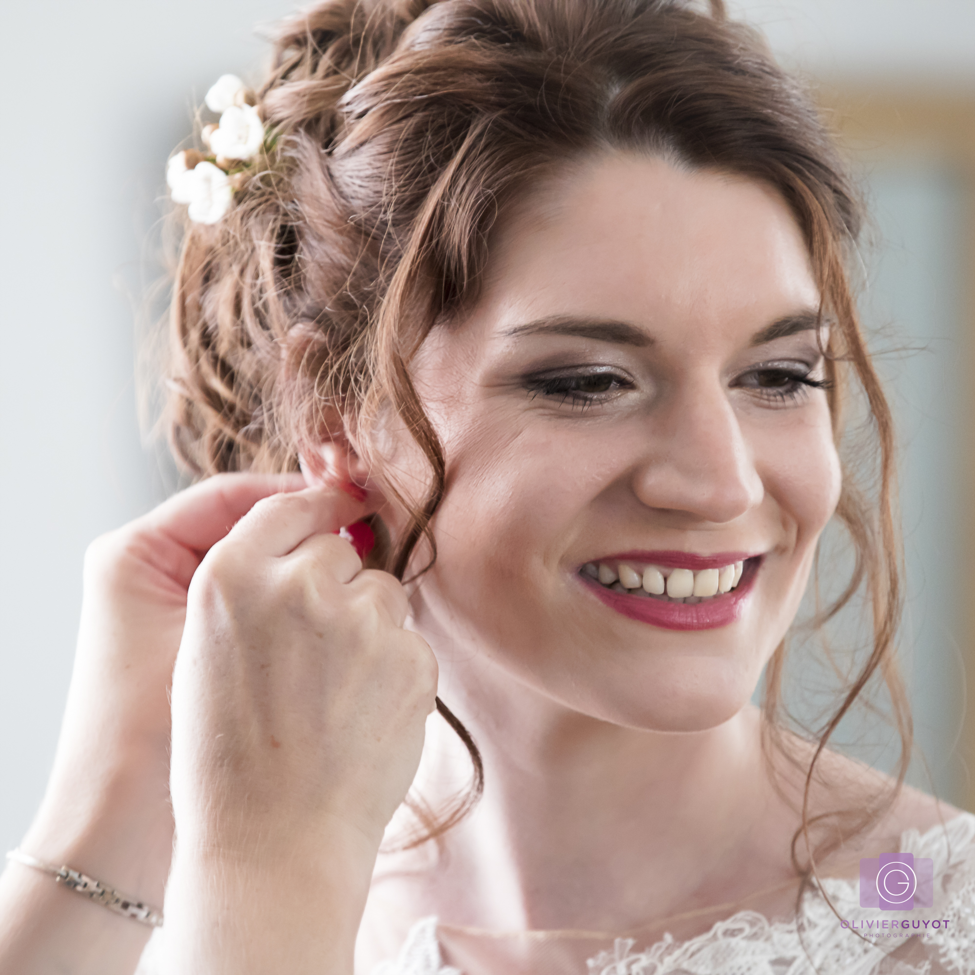 Preparation Mariage Maquillage Coiffage Photographe Versailles